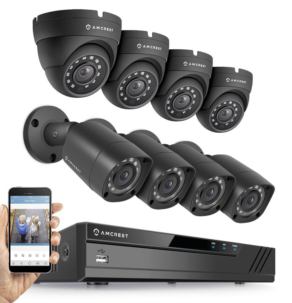 Amcrest Pro HD 1080p Video Security Camera System