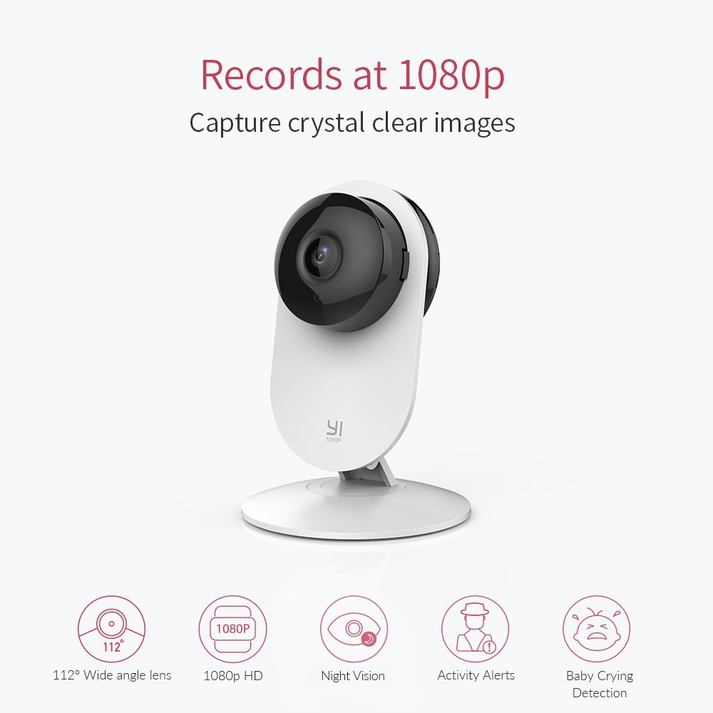 YI Home Camera 2 1080p Wireless IP Security Surveillance System